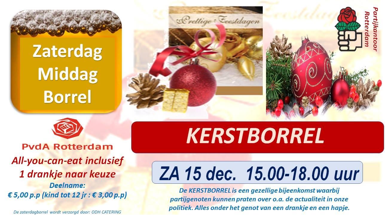 Kerstborrel PvdA 2019