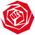 PvdA roos rood