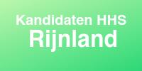 Kandidaten HHS Rijnland