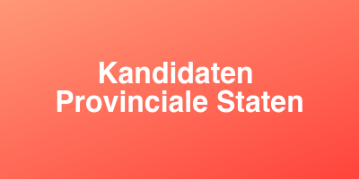 Kandidaten Provinciale Staten