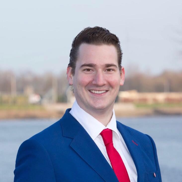 Voorzitter PvdA Zuid-holland Mats Bergman