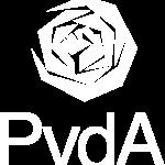 Pvda logo - Wit - RGB