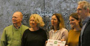 Lijsttrekkers PvdA, D66, NIDA, GL en SP tekenen Duurzaamheidspact
